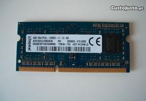 Modulo Ram Kingston 4gb 1rx8 PC3L-12800S