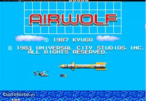 Aviao super sónico um classico-airwolf 1987
