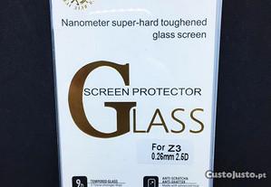 Película de vidro temperado para Sony Xperia Z3