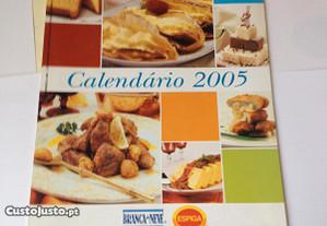 Calendário Branca de Neve + Receitas -Ano 2005