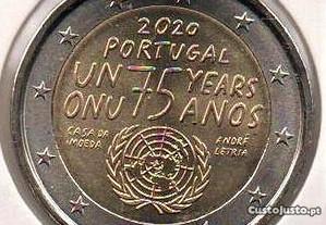 EUR2 2020 ONU bimetálica UNC