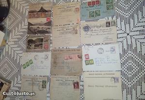 Envelopes ,cartas anteriores a 1950 portuguesas