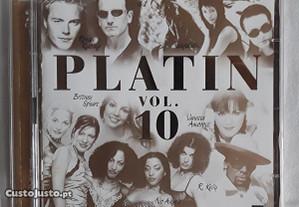 CD música variada PLATIN vol. 10 (2 discos)