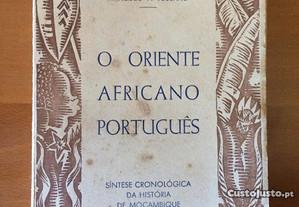 O Oriente Africano Português - M. Simões Alberto
