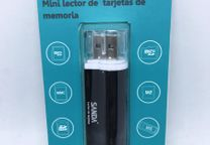 Pen USB Leitor de múltiplos cartões de memória