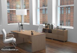 Mesa de reunião secretária de escritório material