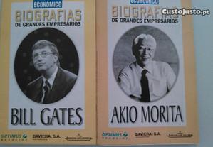 Coleção revistas,Biografias de grandes empresários