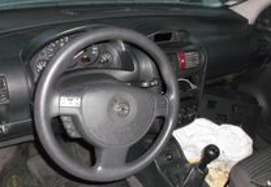 conjunto airbags opel corsa c