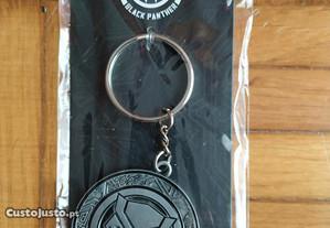 Porta-chaves de metal Marvel Black Panther