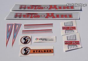 Stelber auto Mini autocolantes stickers emblemas
