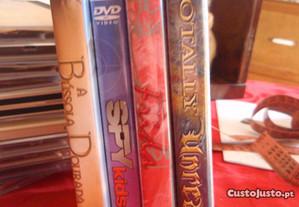 4 DVDs (juvenil)