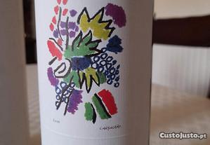Cargaleiro Caixa tubular com garrafa de Vinho Tint