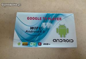 Google TV Player Wifi Android - Novo