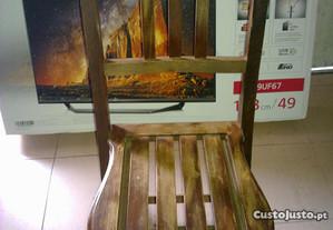 2 Cadeiras Madeira Desmontaveis Catering