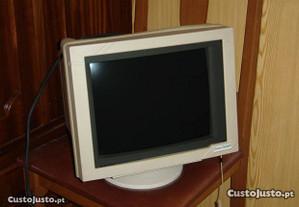 Monitor SAMPO c / filtro - Anos 90 - Funciona