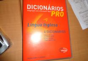 PC/CD-ROM Dicionários Língua Inglesa 4 Dicionários