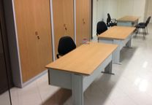 Mesa reunião secretária de escritorio refeitório