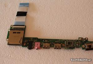 placa USB/ card reader /som - Acer aspire 1410