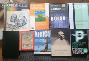 Livros Vários (6E) - Portes Grátis.