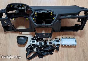Conjunto Kit Airbags Ford Fiesta MK8 Tablier Origi