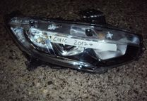 Honda Civic 2017- farol