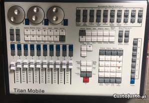 controlador luzes Titan Mobile com case