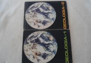Geologia 1 e 2 de Mercês Roque e Adalmiro Castro