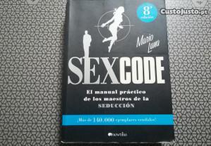 Livro Sex Code - Mario Luna (Portes Grátis).