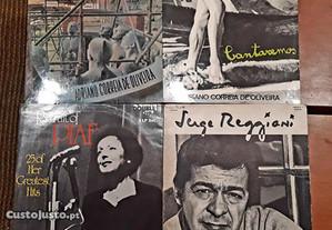 Vinis: Edith Piaf / Serge Reggiani