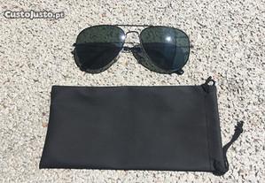 Óculos de sol estilo Ray-Ban Aviador - NOVOS