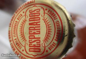 3 garrafas de cerveja estrangeiras para colecciona
