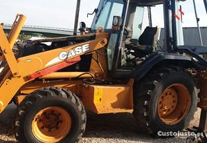 Retroescavadora CASE 580SLE para peças