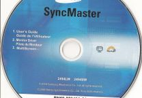 CD SyncMaster pra monitores Samsung2494LW e 2494SW