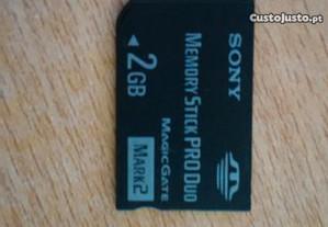 Memory Stick Pro Duo Sony para psp 2gb
