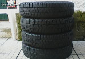 145 / 80 / 13 - 4 pneus - troco