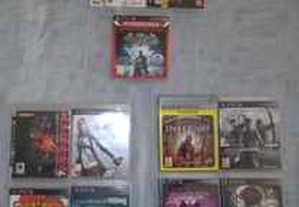 Jogos PS3 - Dragonball Final Fantasy Metal Gear