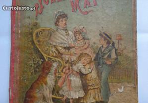 Raro livro - Nos joelhos d'uma Mãi Mãe