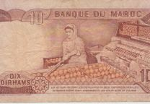 Dix dirhams de Marrocos