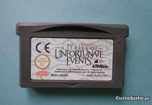 Jogos Game Boy Advance - Lemony Snicket's - A Seri