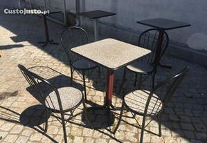 Conj. Mesas e cadeiras