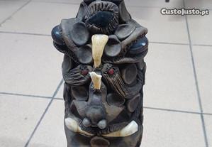 Garrafa decorada - Artesanato Brasileiro