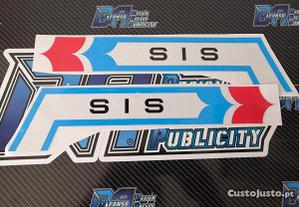 Autocolantes SIS Fuego V5