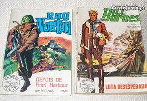 Colecção Aguia nº 2 Ray Norton e nº 18 Bill Barnes