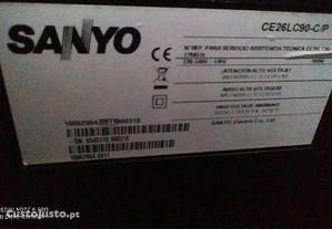 TV LCD marca sanyo