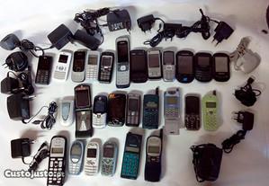 27 telemóveis e15 transformadora de varias redes
