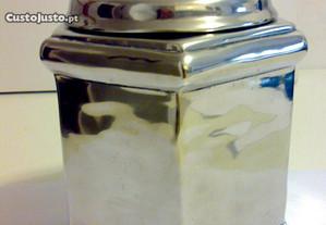 Caixa Art Deco Estanho puro feito à mão