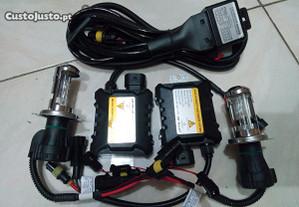 Kit bi-xenon h4 6000k slim - novo