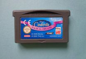 Jogos Game Boy Advance - Disney's Cinderella Magic