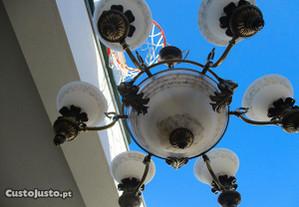 Candeeiro Lindíssimo de teto de sala antigo