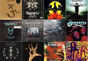 CDs METAL - Raros - Como Novos